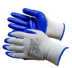 Перчатки нейлоновые обливные нитрилом